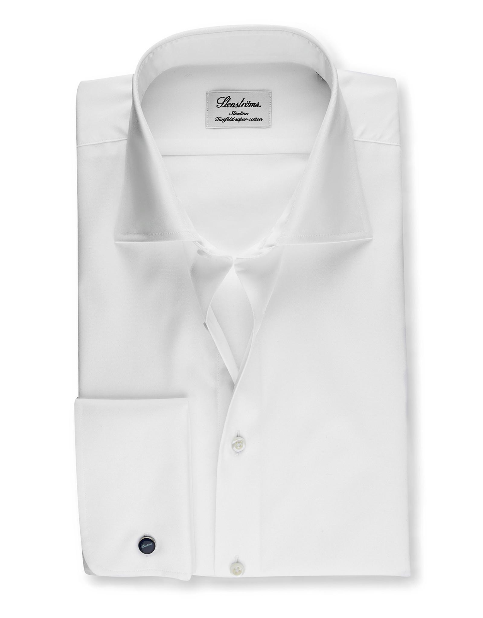 Stenströms Stenströms hemd wit DM Slimline 703771-1467/000