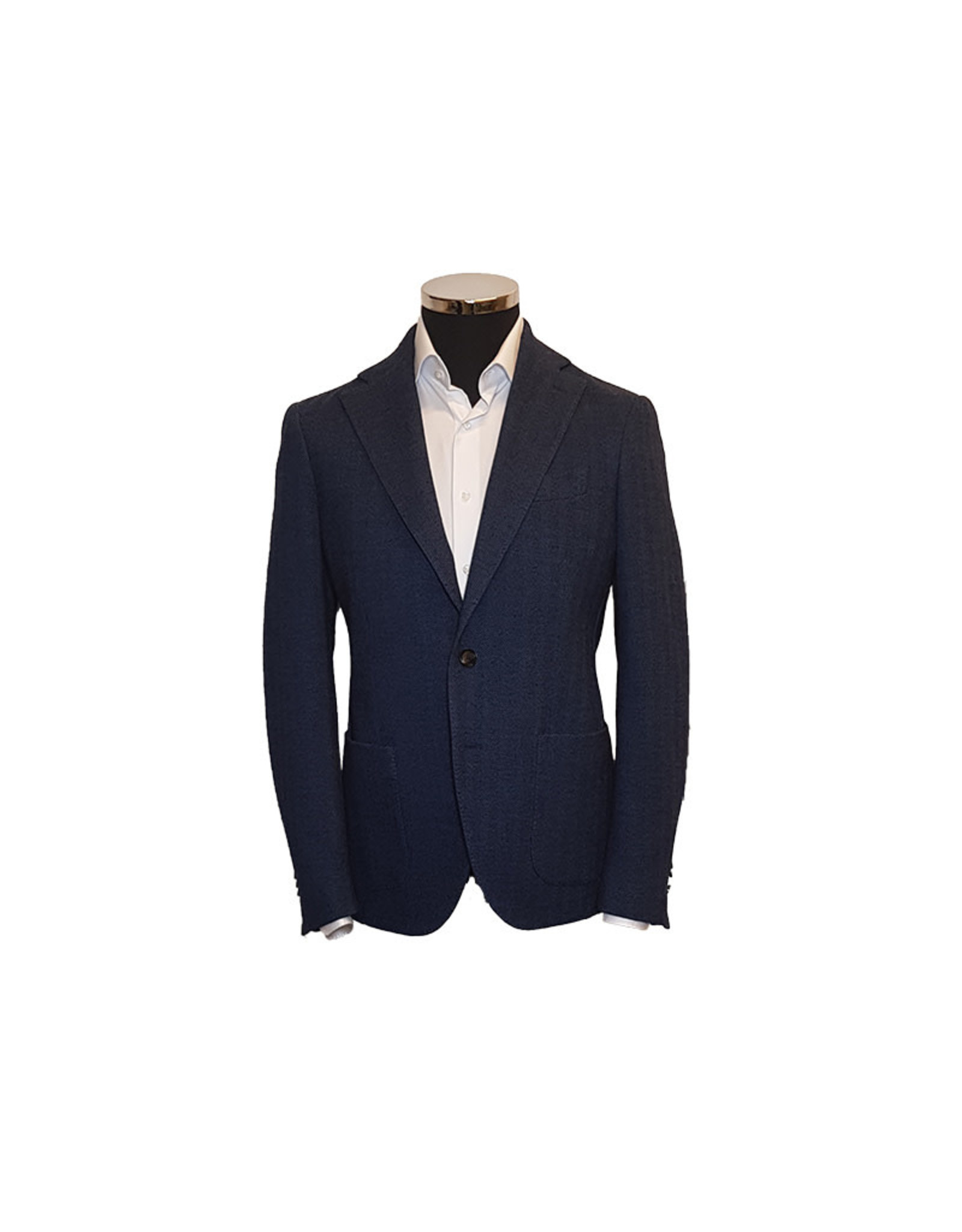 Latorre Gabiati vest blauw visgraat jersey Maglie JA1103/3