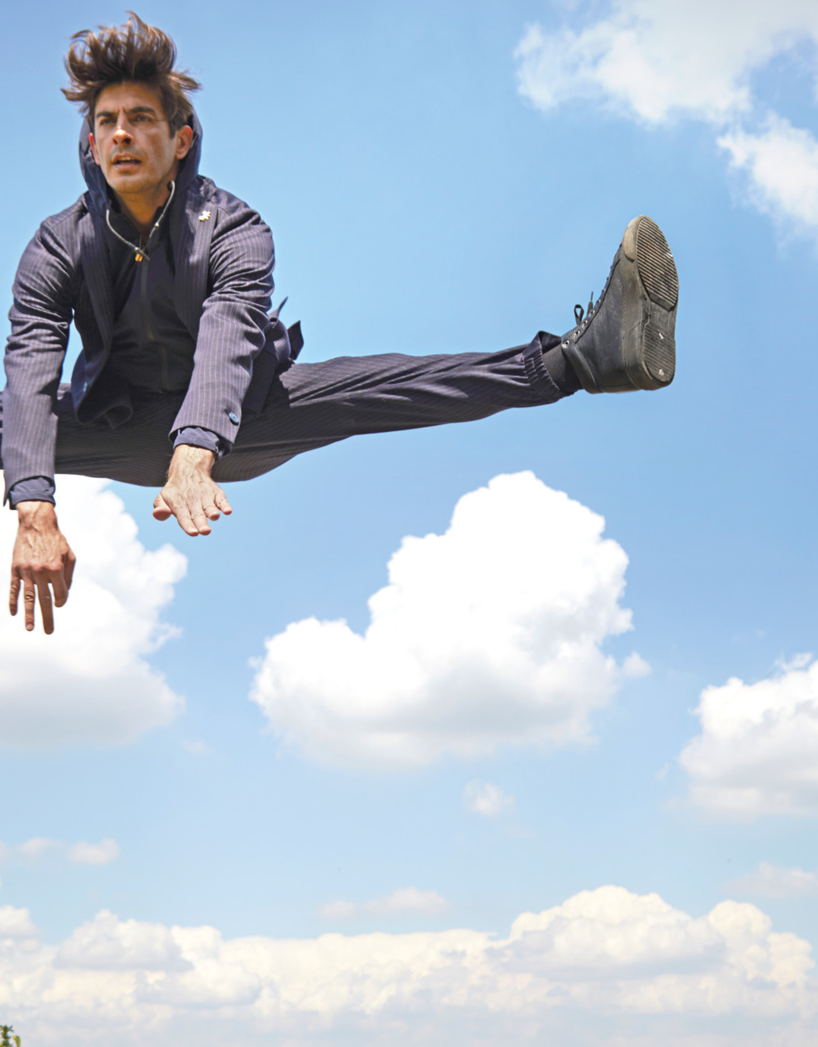 Tombolini Tombolini vest blauw running suit zero gravity EYAP U780