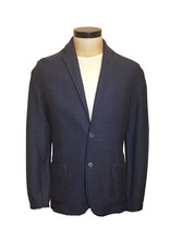 Gran Sasso Sandmore's cardigan blauw visgraat 14248/903 M:57166