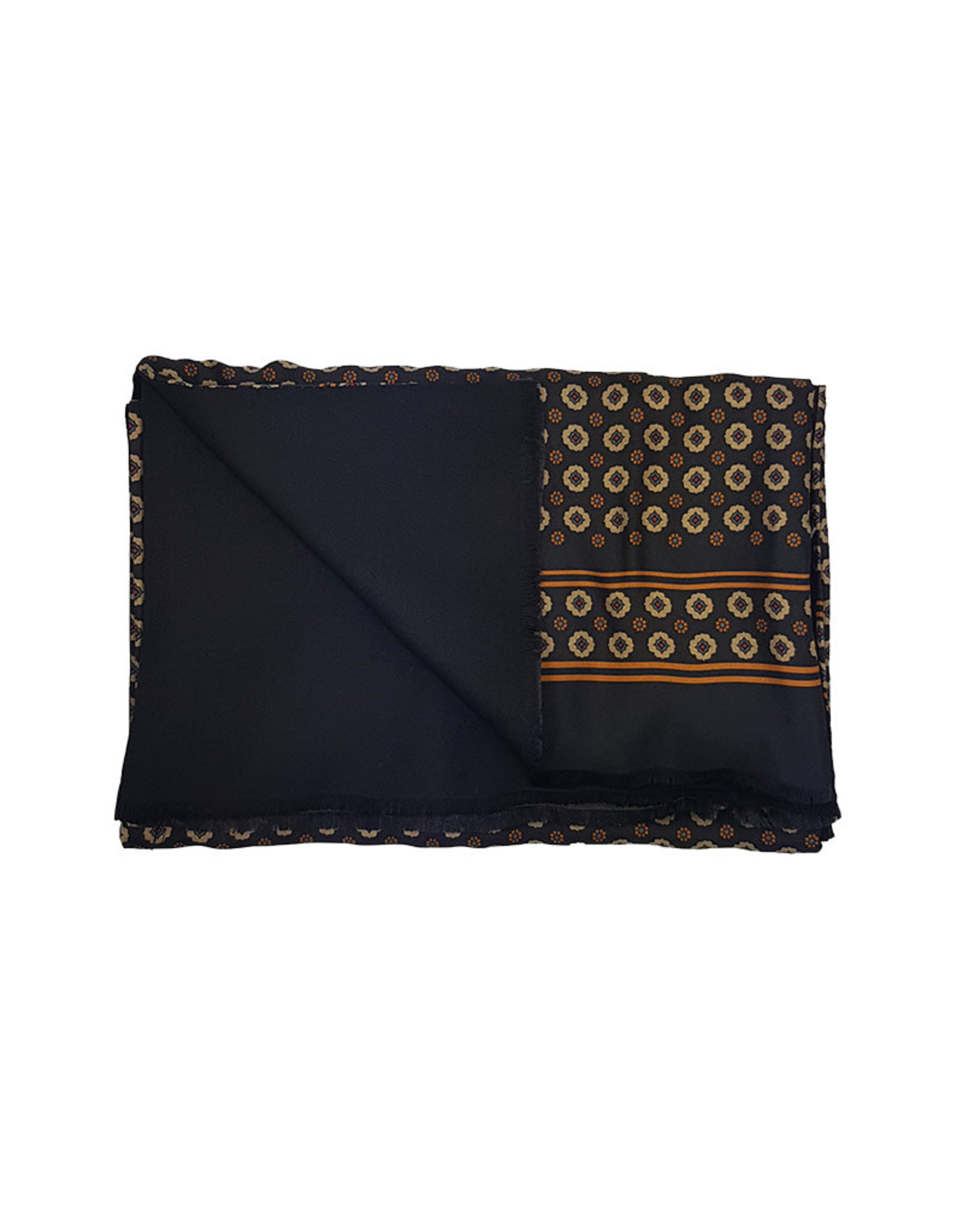 Ploenes Ploenes sjaal zwart 195062/99