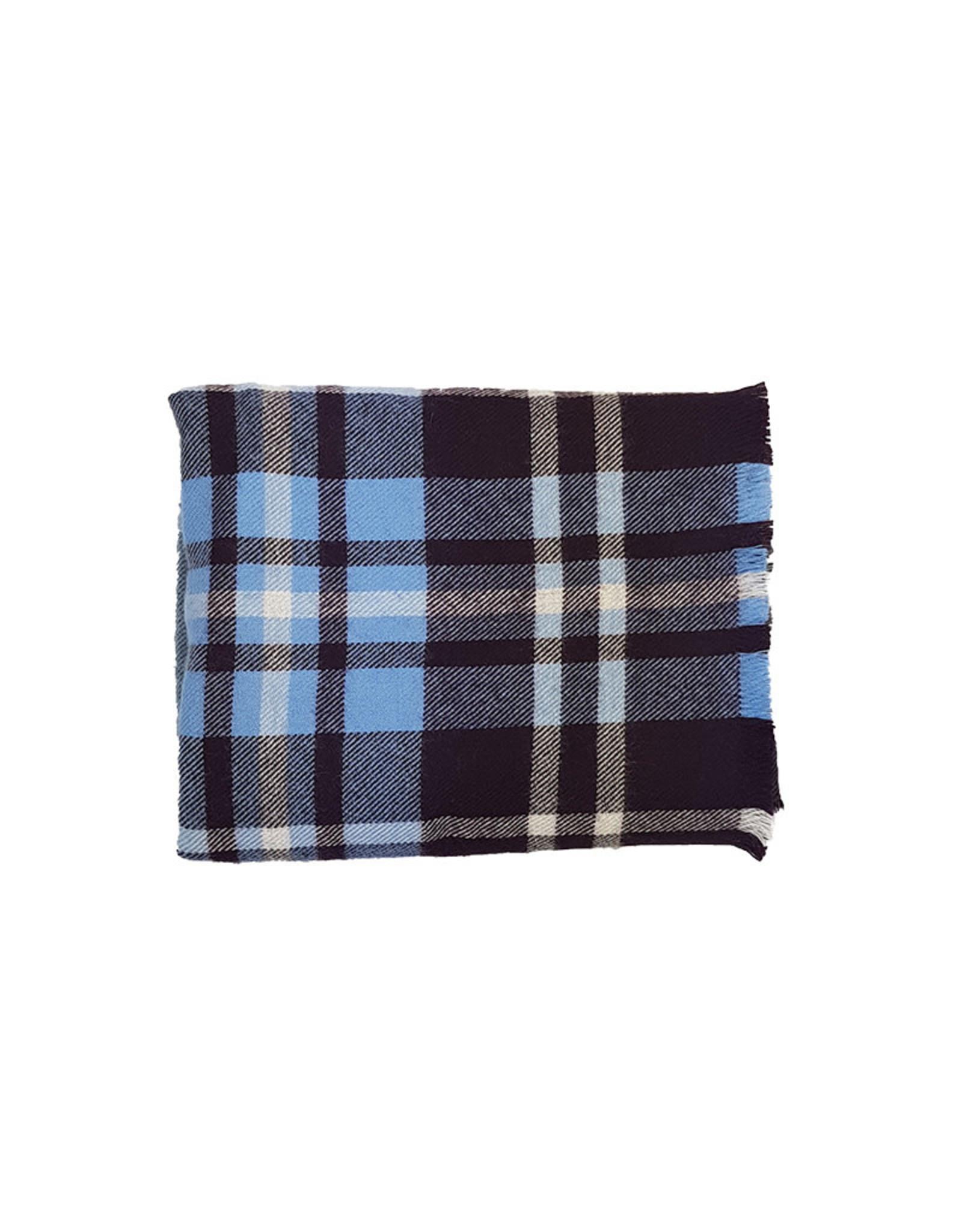 Eton Eton sjaal blauw-paars 19123