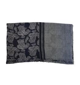Vidoni Sandmore's sjaal grijs paisley