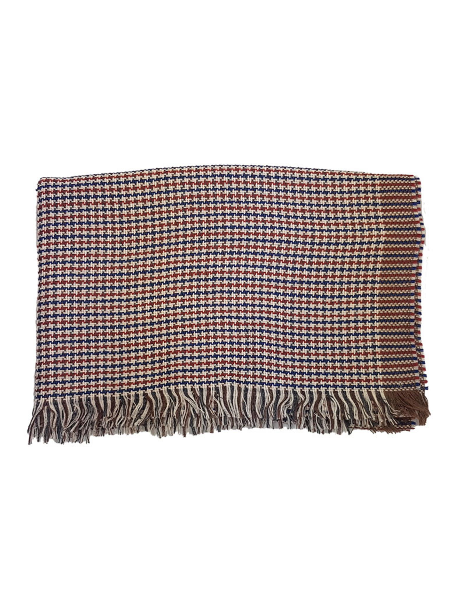 Vidoni Sandmore's sjaal blauw-rood 917