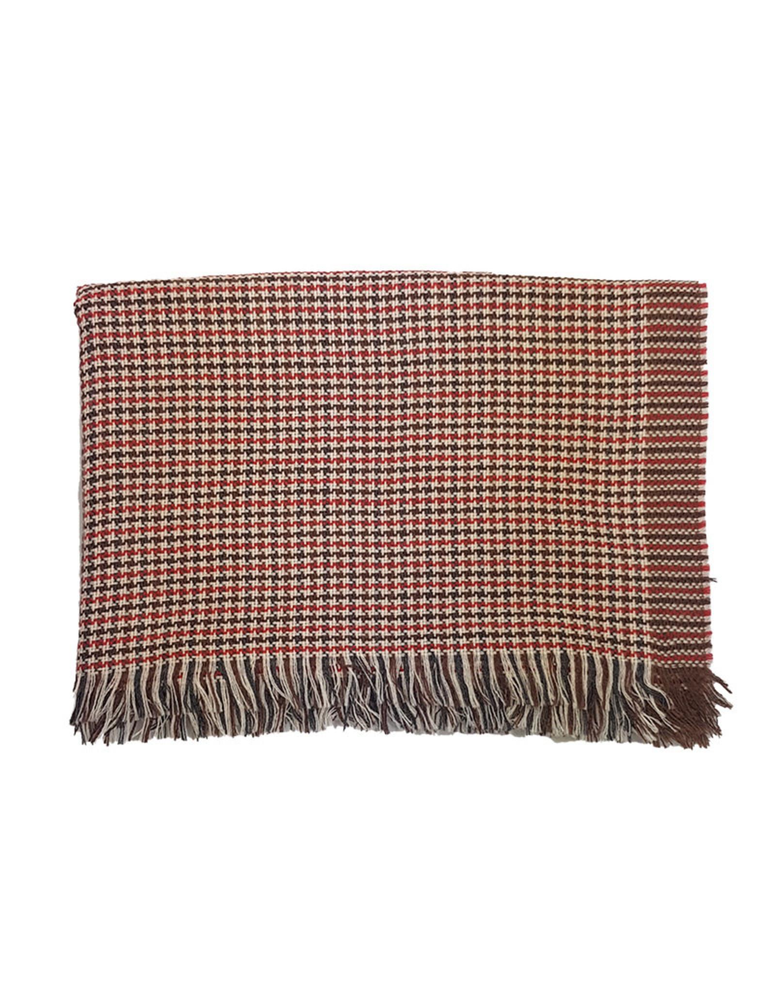 Vidoni Sandmore's sjaal bruin-rood 917