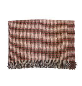 Vidoni Sandmore's sjaal bruin-rood