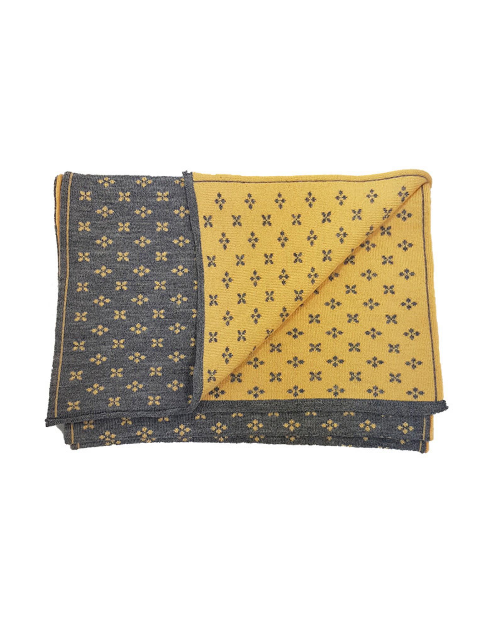 Fumagalli Fumagalli sjaal grijs-geel Fresia