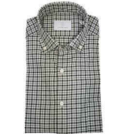 Ghirardelli Sandmore's hemd groen flannel Fitted body