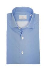 Ghirardelli Sandmore's hemd lichtblauw fantasie Slimline  F4116/03 P66 B741