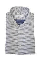 Ghirardelli Sandmore's hemd grijs Slimline E1043