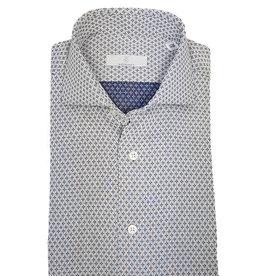 Ghirardelli Sandmore's hemd grijs Slimline
