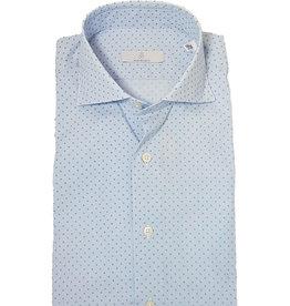 Ghirardelli Sandmore's hemd lichtblauw Slimline