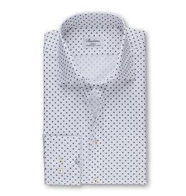 Stenströms Stenströms hemd wit bloemetjes Slimline