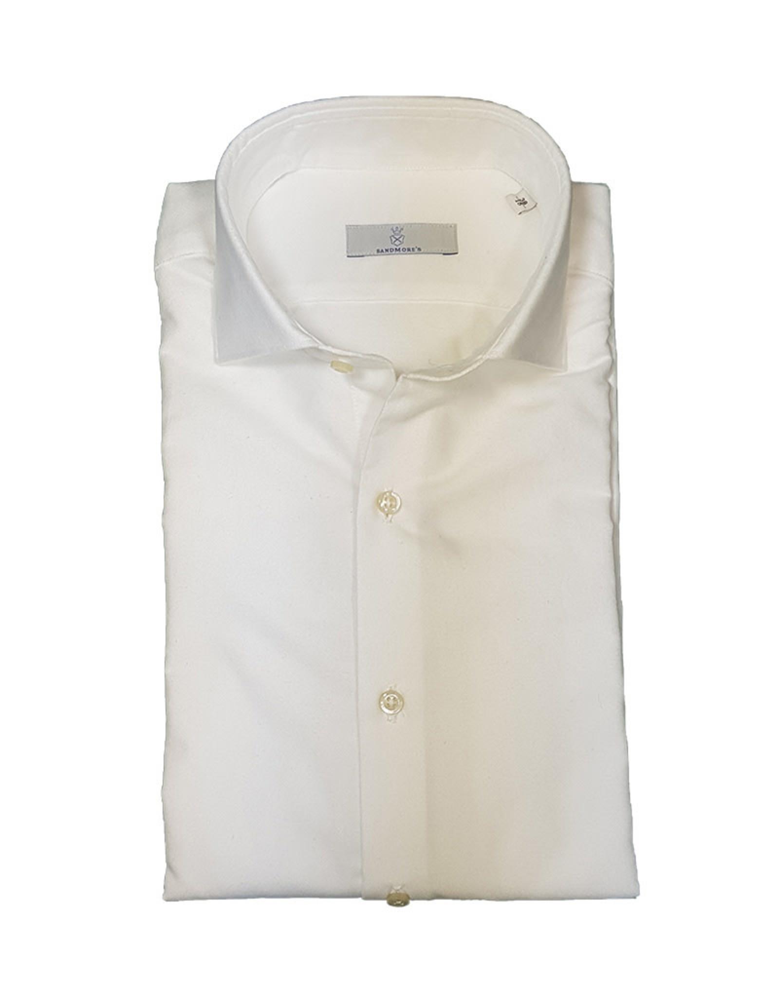 Ghirardelli Sandmore's hemd wit flannel Slimline T7100