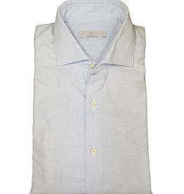 Ghirardelli Sandmore's hemd lichtblauw flannel Slimline