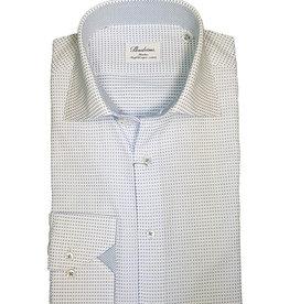 Stenströms Stenströms hemd wit met blauwe stippen Slimline