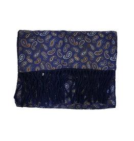 Ascot Sandmore's sjaal blauw paisley