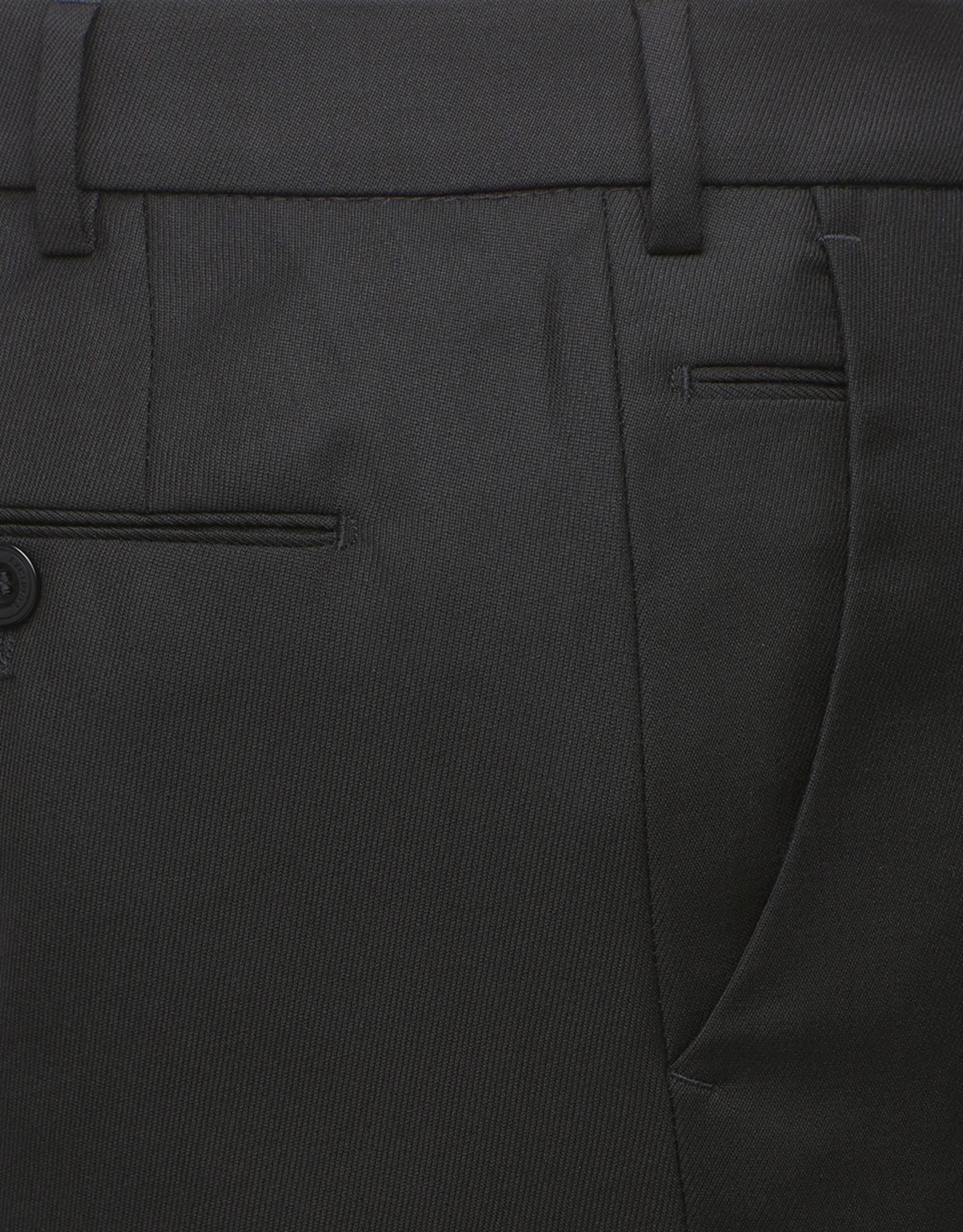 Meyer Exclusive Meyer Exclusive broek wol zwart Bonn 8400/09