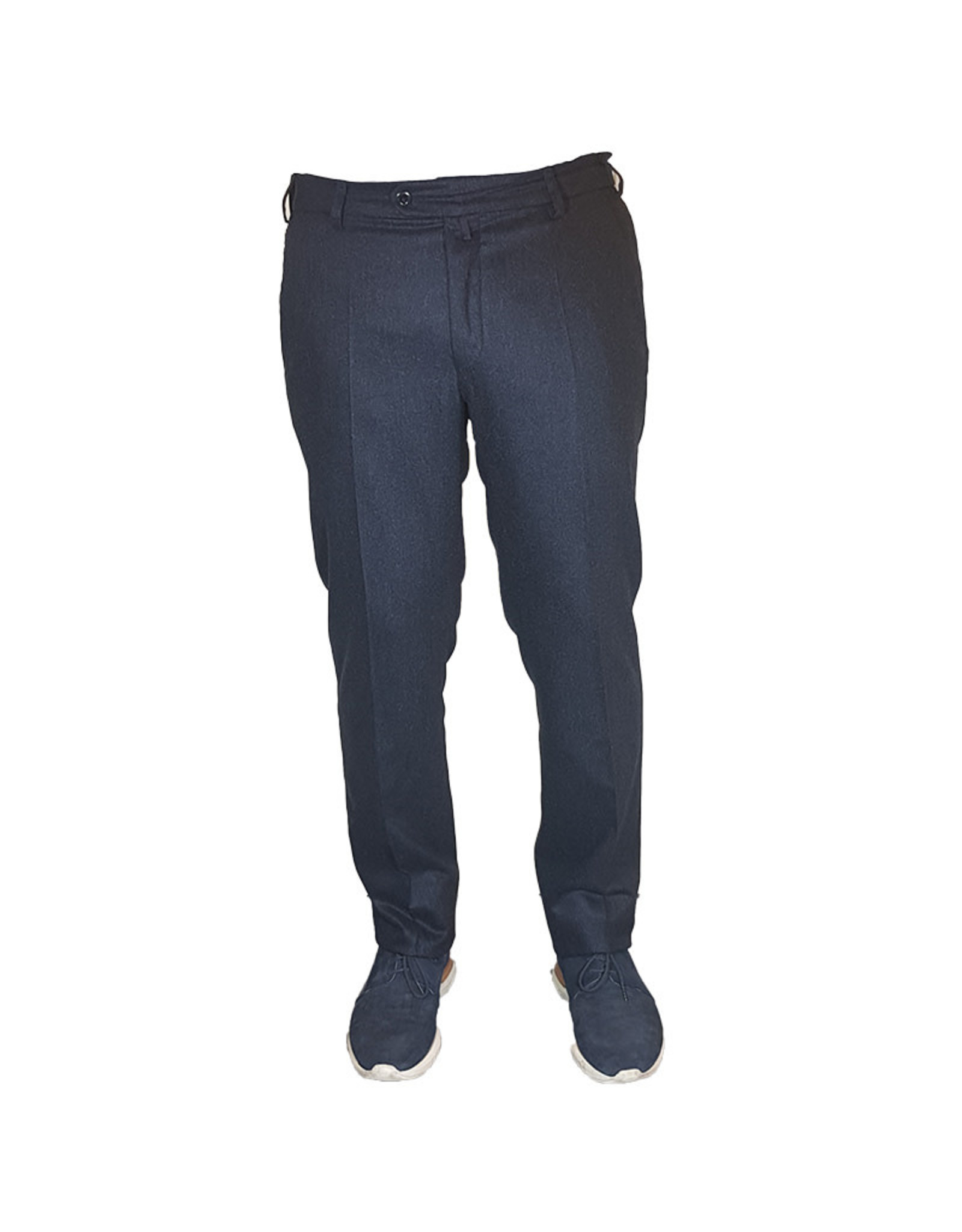 Meyer Exclusive Meyer Exclusive broek wol blauw Bonn 8531/18