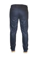 Meyer Exclusive Meyer Exclusive broek wol blauw Bonn 8531/18