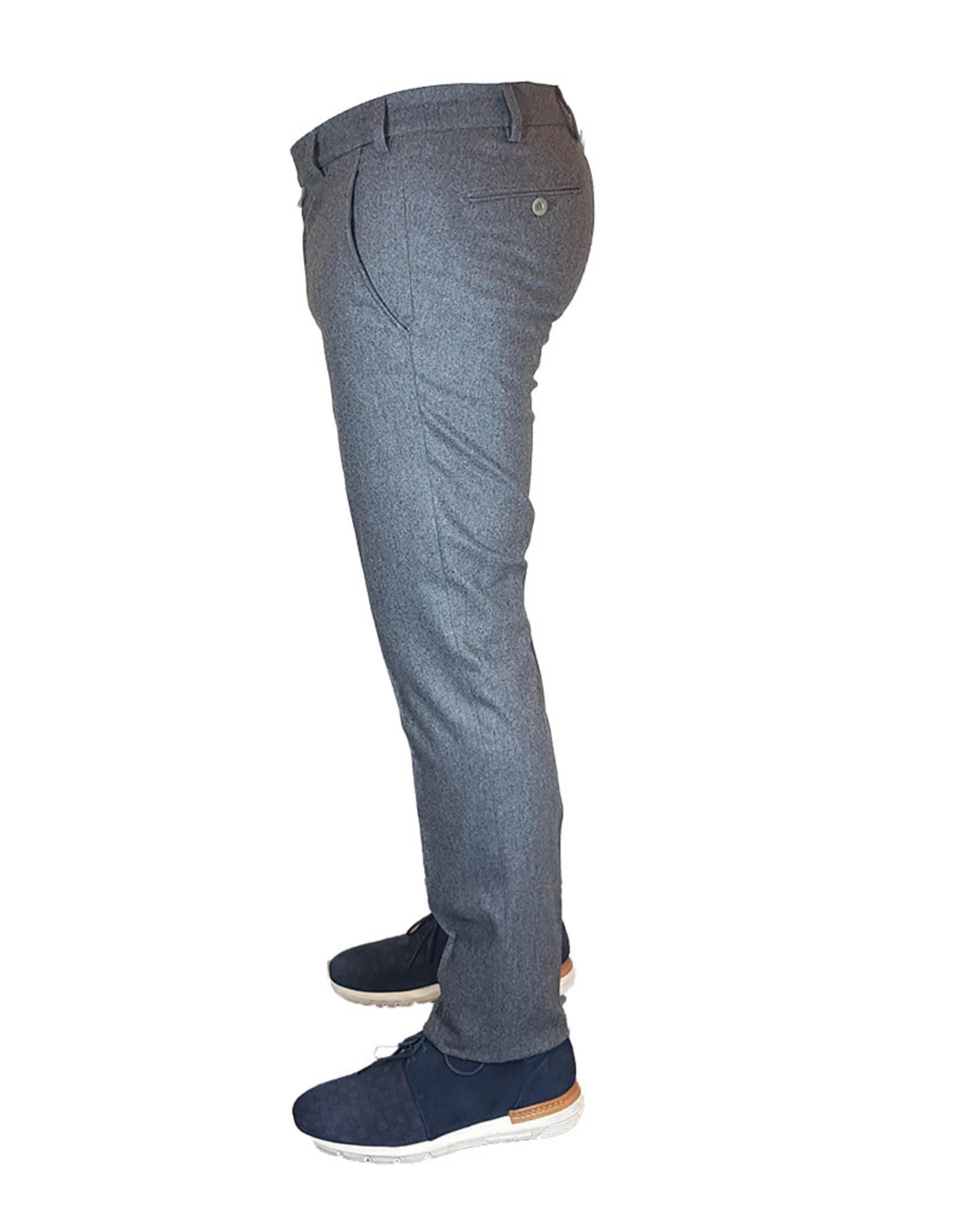 Meyer Exclusive Meyer Exclusive broek wol grijs Bonn 8531/06