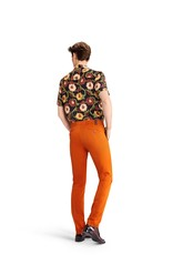MMX MMX broek katoen oranje Lupus 7301/46