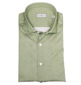 Sonrisa Sonrisa hemd groen Semi-slim