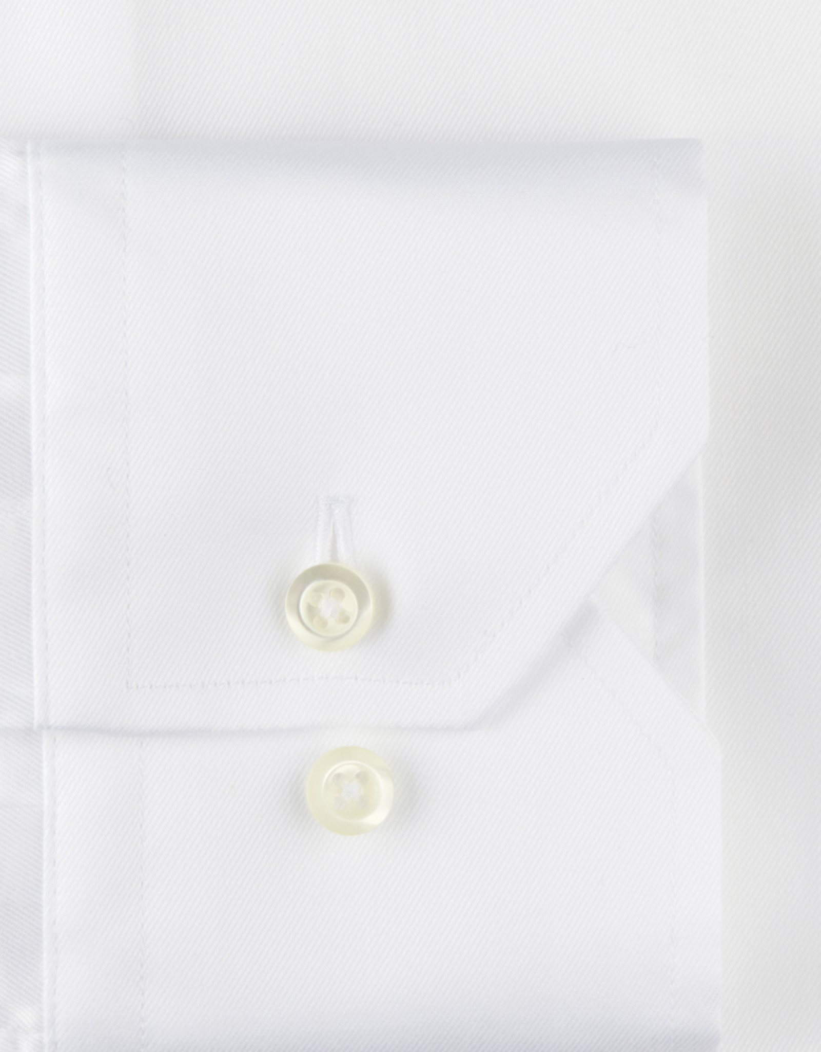 Stenströms Stenströms hemd wit stretch Fitted body 602751-7136/000