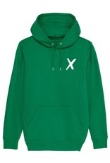 X-collection X-Hoodie apple green laundry white