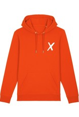 X-collection X-Hoodie vamp red laundry white