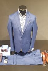 Latorre Gabiati kostuum blauw ruit  Q90144/1