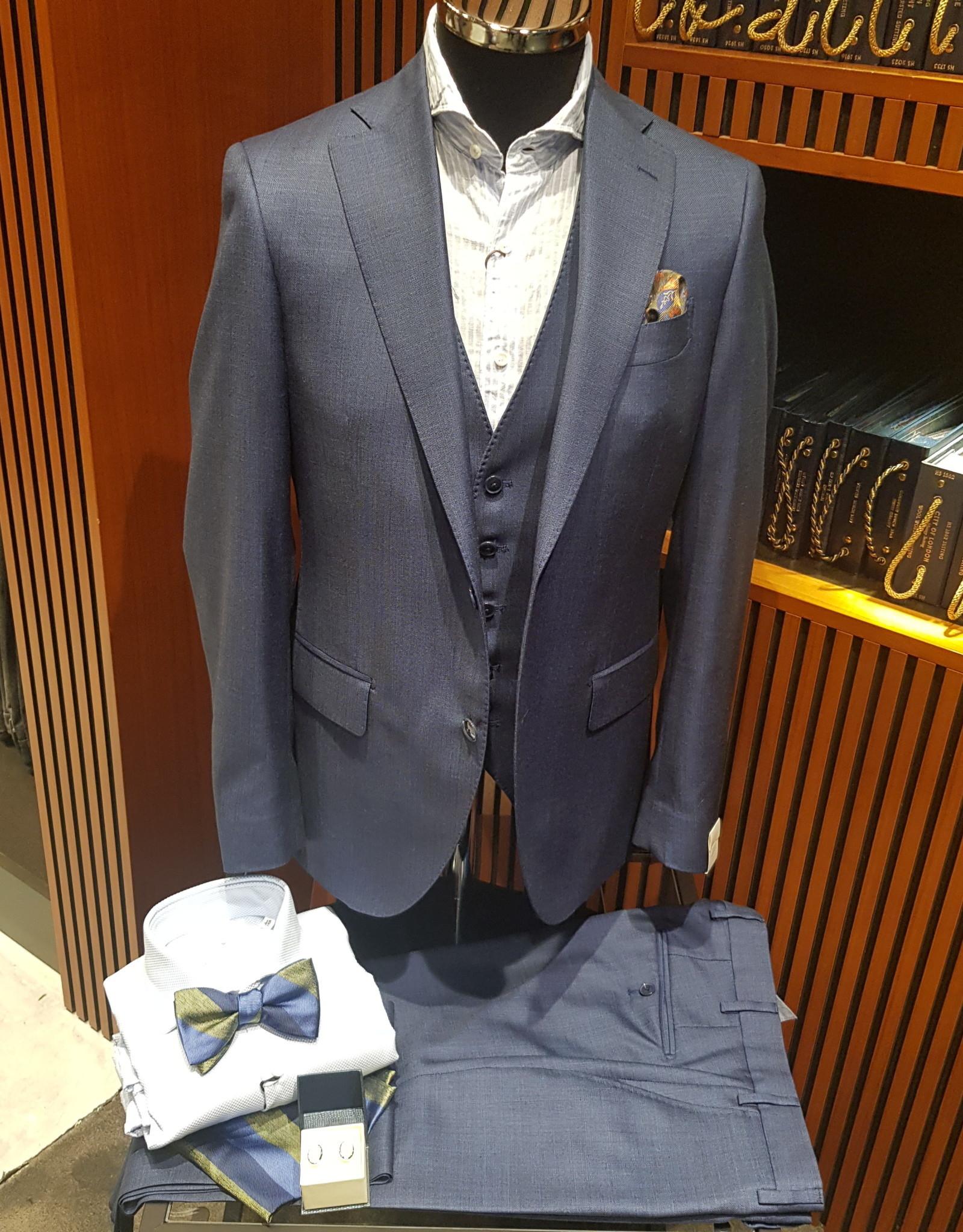 Latorre Gabiati kostuum blauw 3-delig Q90064/1