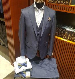 Latorre Gabiati kostuum blauw 3-delig
