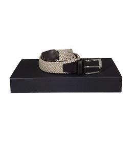Belts+ Belts+ riem elastisch beige Andreas