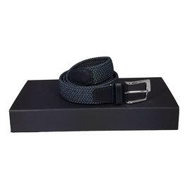 Belts+ Belts+ riem elastisch blauw Andreas