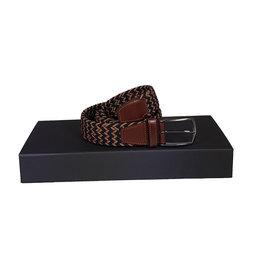 Belts+ Belts+ riem elastisch marine-bruin Alonso