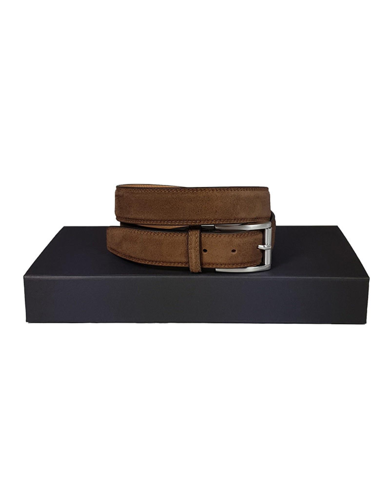 Belts+ Belts+ riem daim bruin Spaccato 20310/870