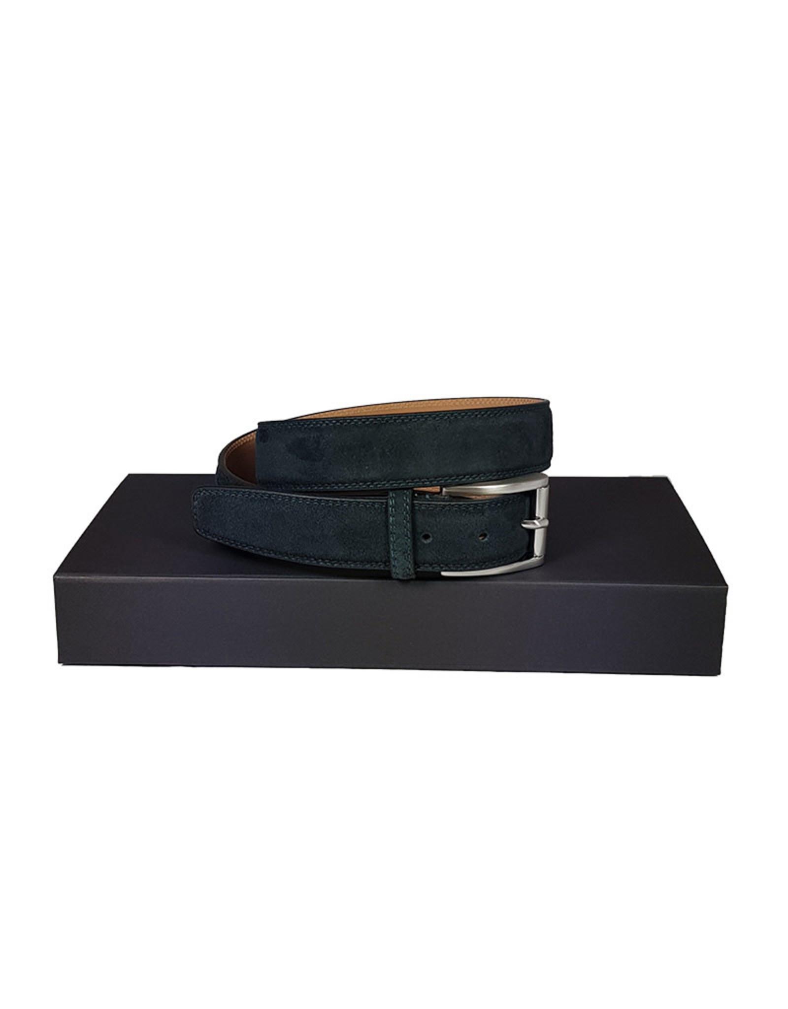Belts+ Belts+ riem daim blauw Spaccato 20310/690