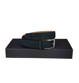 Belts+ Belts+ riem daim blauw Spaccato