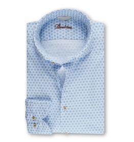 Stenströms Stenströms hemd wit-lichtblauw Slimline