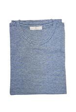 Gran Sasso Sandmore's T-shirt blauw-wit  73200/560 M:60131