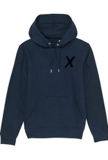 X-collection X-Hoodie new navy real black