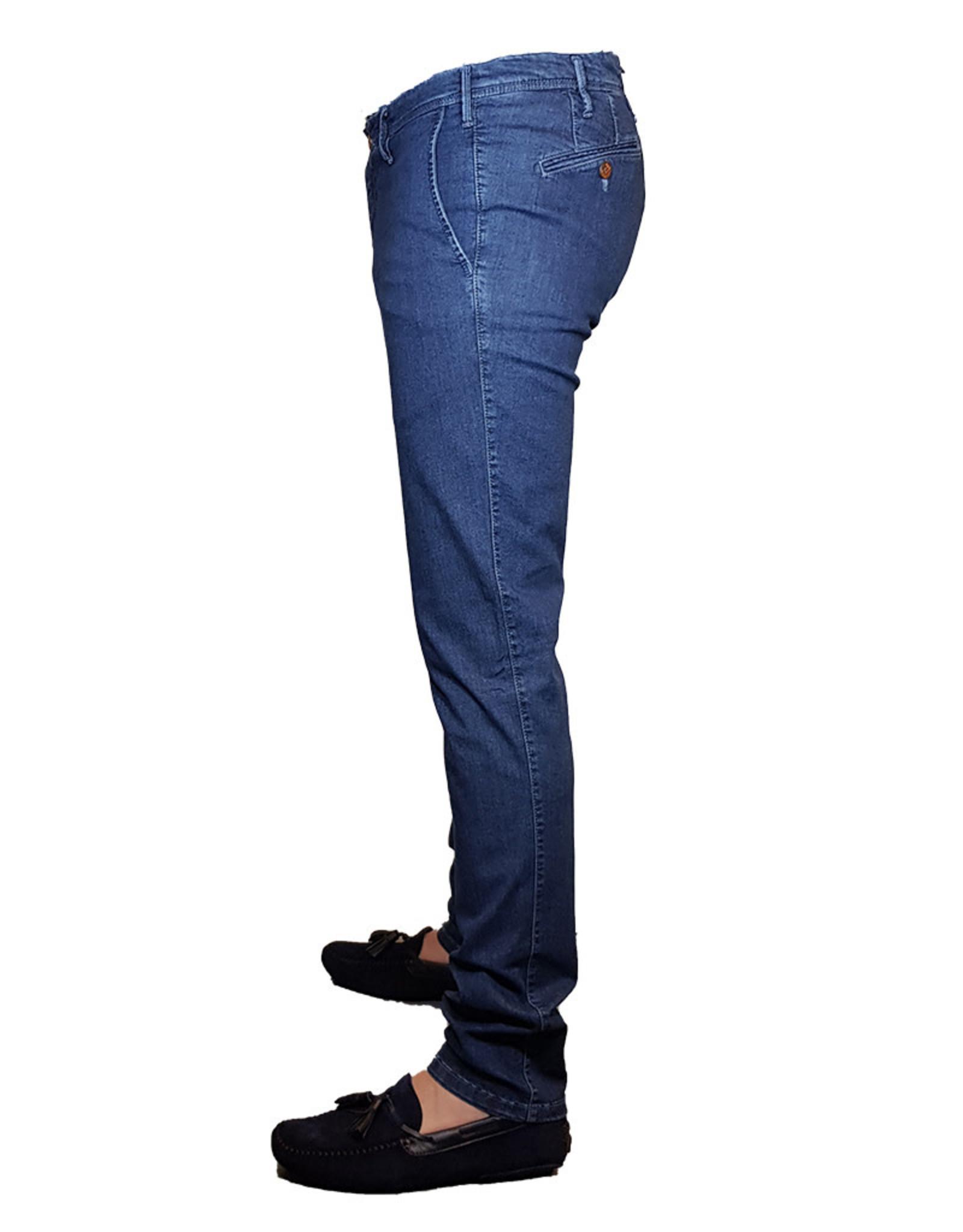 MMX MMX broek jeans blauw Lupus 7096/17