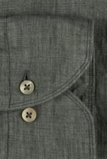 Stenströms Stenströms hemd linnen groen slimline 775221-7970/420