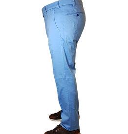 Meyer Exclusive Meyer Exclusive broek katoen lichtblauw Bonn