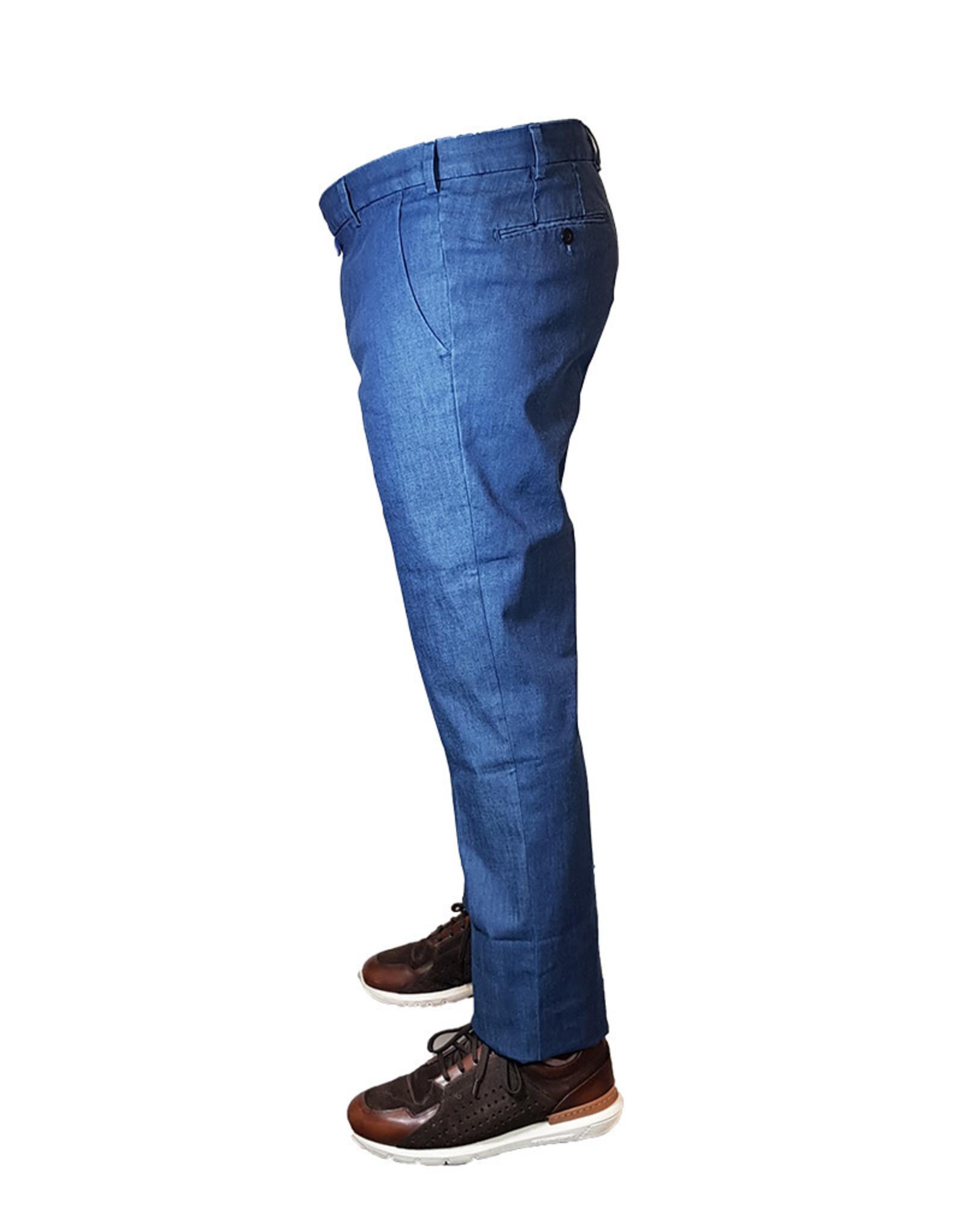 Meyer Exclusive Meyer Exclusive broek jeans blauw 8057/17