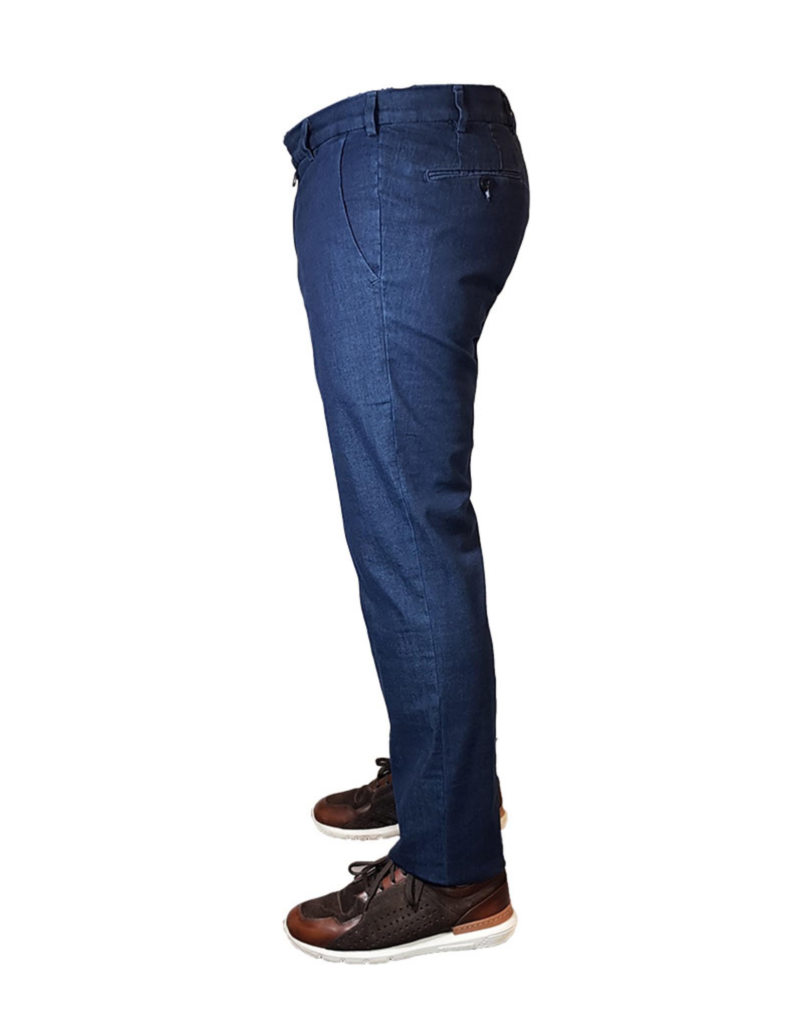 Meyer Exclusive Meyer Exclusive broek jeans blauw 8057/18