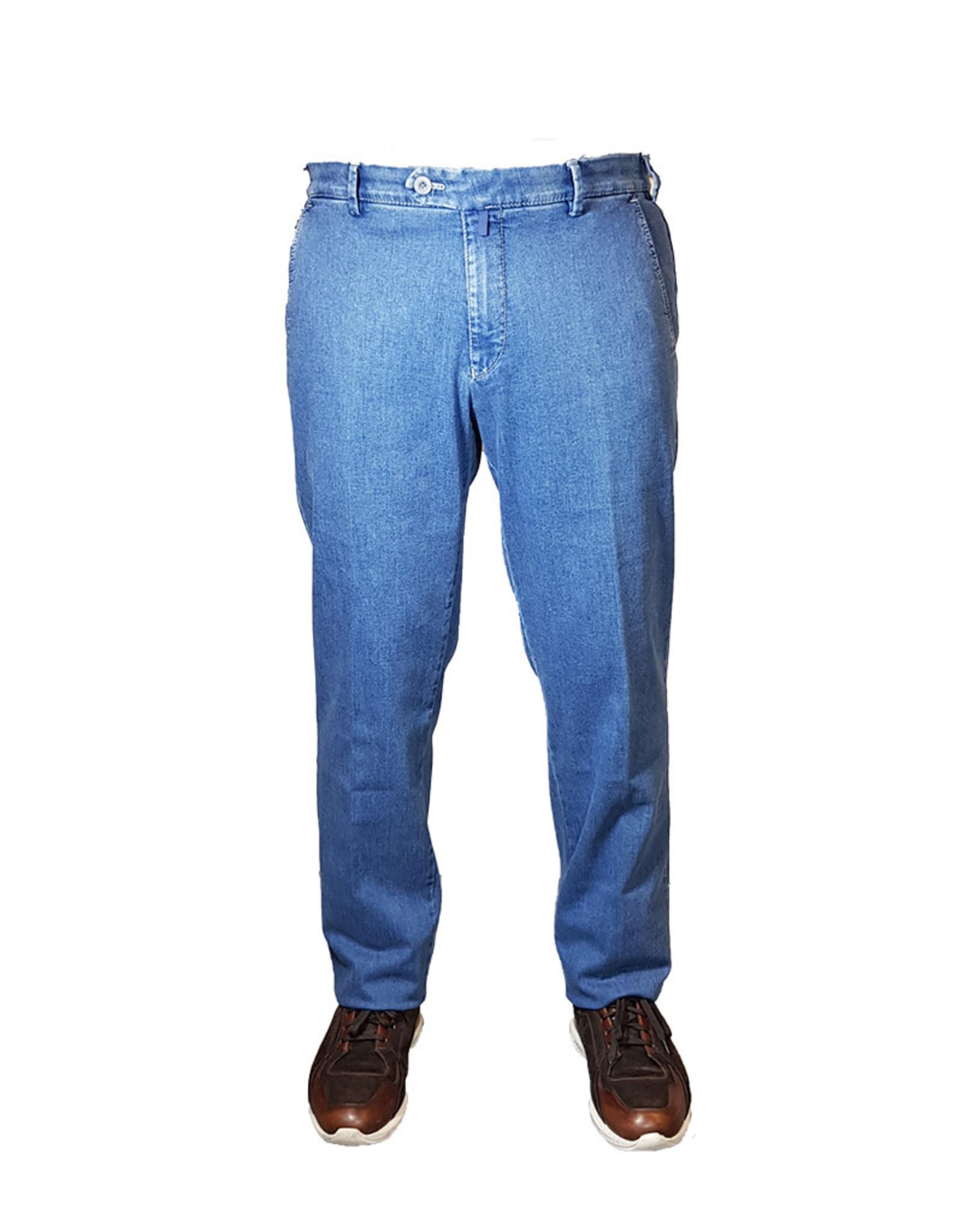 Meyer Exclusive Meyer Exclusive jeans lichtblauw Bonn 8040/16