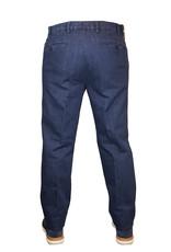 Meyer Exclusive Meyer Exclusive broek jeans blauw 8077/18