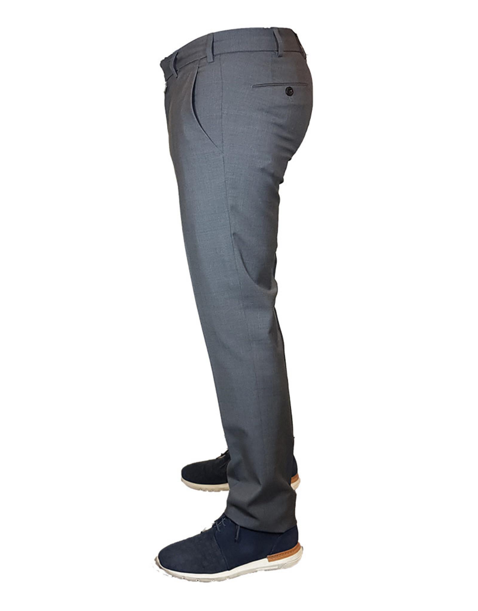 Meyer Exclusive Meyer Exclusive broek wol grijs 8203/07
